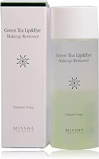 Missha Green Tea Lip And Eye Makeup Remover