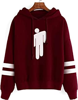 Billie Eilish Novelty Hoodie Merch Sweatshirt Graphic Hoodies Pullover Casual Fashion Funny Hooded Sweater Tops Clothes