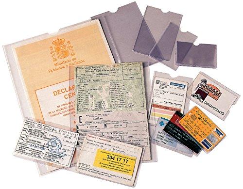ESSELTE 46001 - Caja 100 portacarnets 60Q NIF 87 x 56 mm apaisado