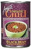 Amy's Organic Chili, Black Bean, Low Fat, Medium 14.7 oz