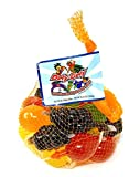 Dely-Gely Fruit Jelly - Gelatina De Frutas 25 Pieces (1 Pack)