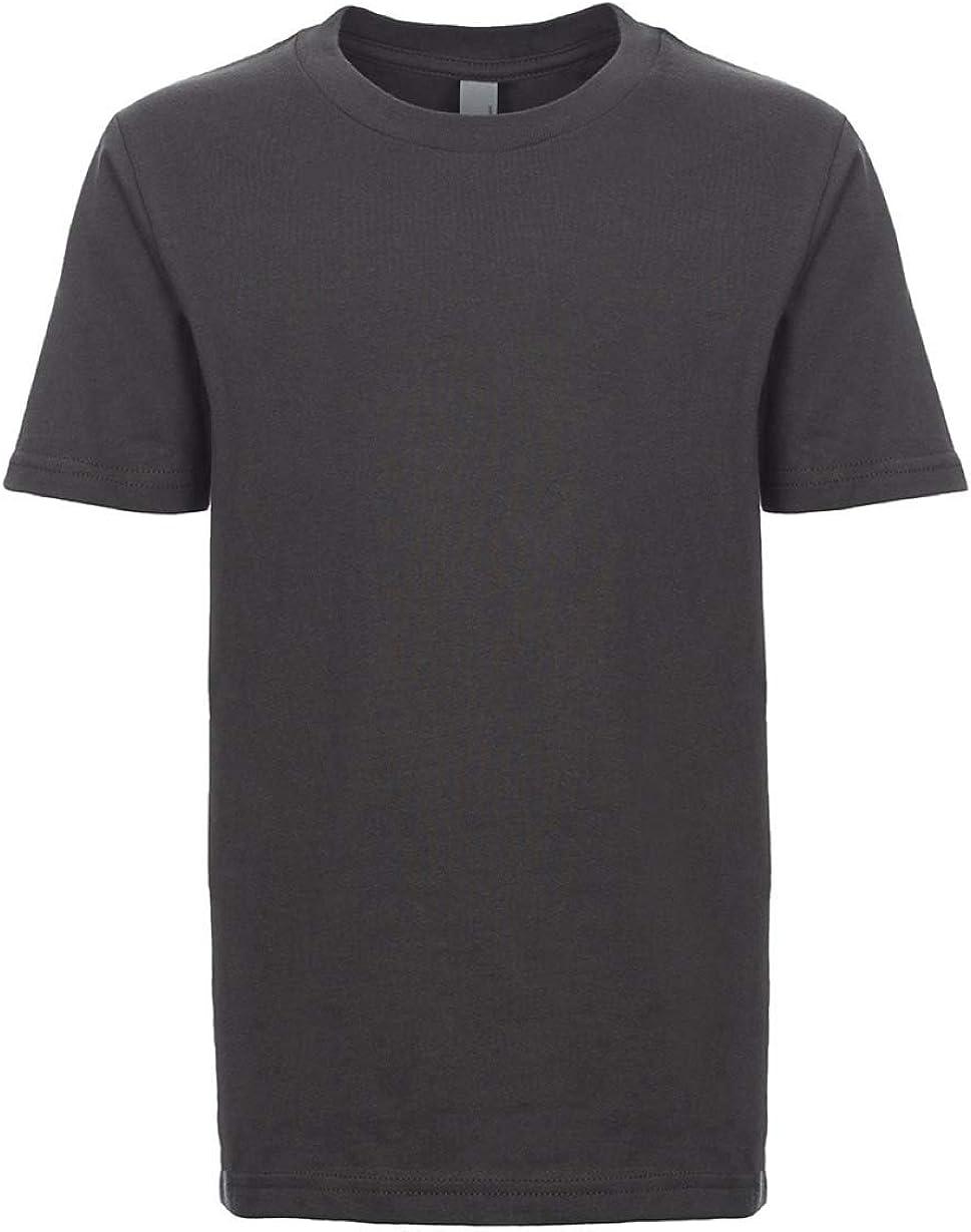 Next Level Kids Crew Neck T-Shirt Heavy Metal XL