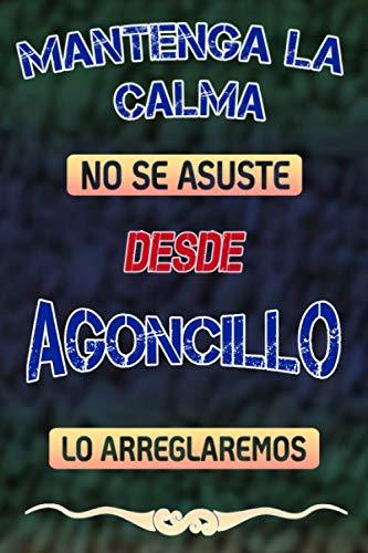 Pas de panique, nous allons le réparer depuis Agoncillo lo arreglaremos: Cuaderno | Diario | Diario | Página alineada