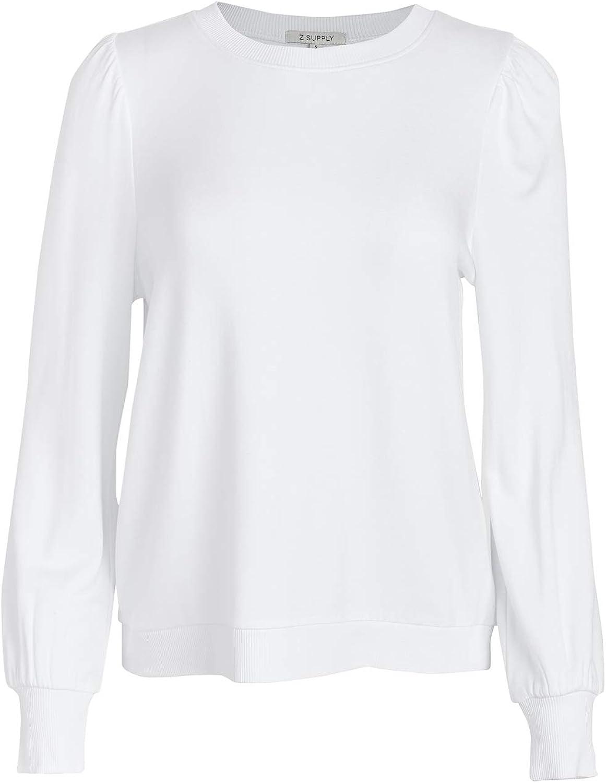 Z SUPPLY Women's Puff Sleeve Sweatshirt
