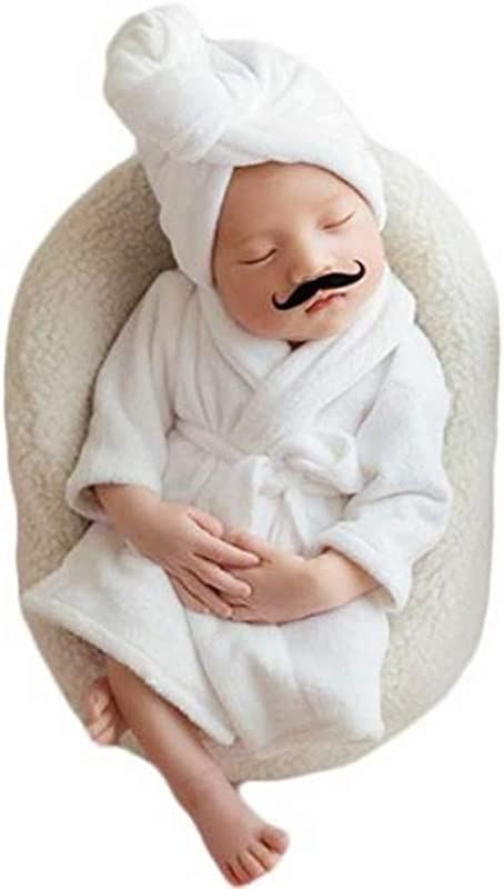 Newborn Baby Boy Girl Photography Photo Props Costume Bathrobes Bath Towel Blanket Photo Shoot