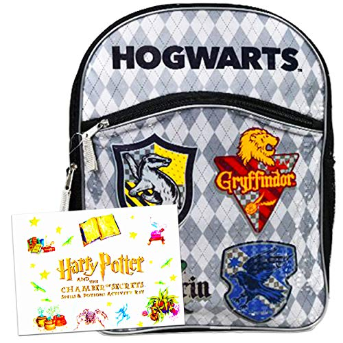 Harry Potter Backpack Bundle ~ Deluxe 16' Harry Potter School Bag for Kids with Harry Potter Magical Science Kit (Harry Potter School Supplies)
