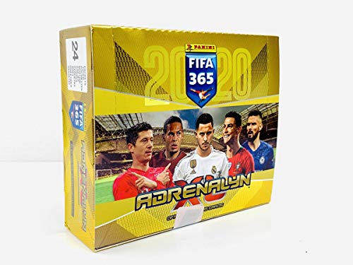 Adrenalyn XL Sammelkarten Fifa 365, Saison 2019 / 2020, 24 Booster im Display, 6 Karten je Booster