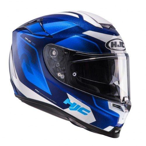HJC casco Moto Rpha 70Grandal MC2, azul/blanco