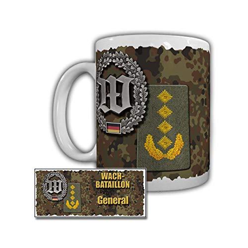 Tasse Wachbataillon General Tarn Muster Tee Schulterabzeichen Bundeswehr #30017