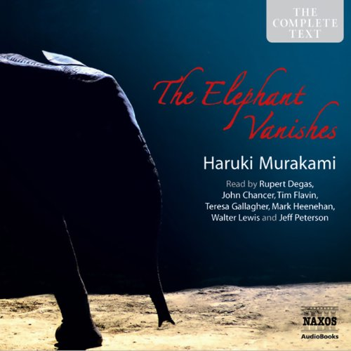The Elephant Vanishes: Stories audiobook cover art