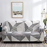 MKQB Funda de sofá elástica para Sala de Estar, Funda de sofá Antideslizante con protección para Mascotas, combinación de Esquina Que Envuelve firmemente la Funda de sofá NO.14 1seat-S- (90-140cm