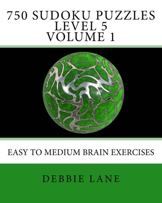 公爵有益企業750 Sudoku Puzzles Level 5 Volume 1: Easy To Medium Brain Exercises