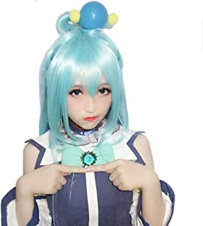 KonoSuba Gods Blessing on This Wonderful World! Aqua Cosplay Wig Cosplay Costume Hair