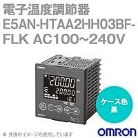 オムロン(OMRON) E5AN-HTAA2HH03BF-FLK 電子温度調節器 プログラムタイプ 端子台タイプ 単相・三相ヒータ用 AC100~240V ブラック (出力ユニット方式) NN