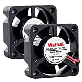 Wathai 30mm x 10mm 12V Small DC Brushless Cooling Fan