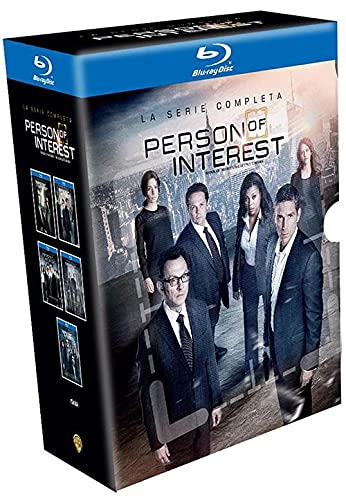 Top New Person of Interest: The Complete Series Blu-ray Collection – The Complete First, Second, Third, Fourth & Fifth Seasons (Seasons 1, 2, 3, 4, 5 Bluray) [Region 1, Spanish Artwork]
