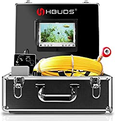 IHBUDS 100ft Color Monitor Sewer Camera