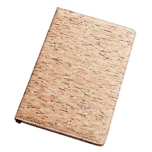 Boshiho - Diario ecológico con tapa de corcho (cuaderno y diario), regalo vegano, color Color 2 8.3 x 5.9 x 0.6 inch