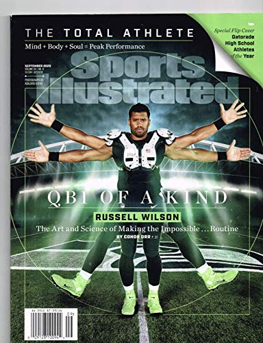 Sports Illustrated Magazine (September, 2020) QB1 of a Kind Russell Wilson Cover Single Magazine