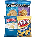 Good for Variety Pack with Tostitos Scoops Tostitos BiteSize Ruffles Fritos Pack, Big Bag Dipping Mix, 4 Count Big Bag Dipping Mix (One Pack)