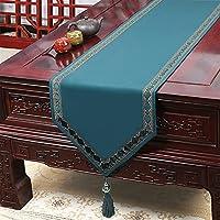 現代のヨーロッパのシンプルな新鮮なテーブルの旗のテーブルランナーの結婚式の装飾のためのバナー (Color : T, Size : 33*150cm)