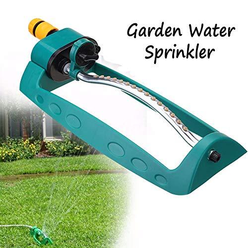 SCKL Aspersores para Patio de 15 Hoyos oscilación automática de Tipo rotatorio regadera del jardín de riego del césped del jardín de enfriamiento por aspersión riego por aspersión