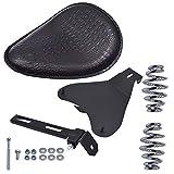 RainMan S Motocycle Spring Seat Black Mounting Bracket fit for Harley Sportster Chopper 48 Dyna Honda Yamaha Kawasaki Suzuki