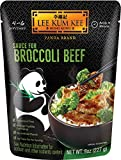 Lee Kum Kee Panda Brand Sauce for Broccoli Beef, 8 Ounces (Pack of 6), 0g Trans Fat, No Artificial...