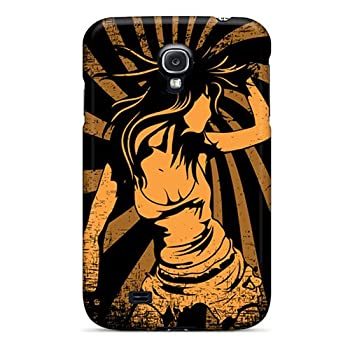 Tpu Shockproof/dirt-proof Dance Rave Trance Cover Case For Galaxy s4