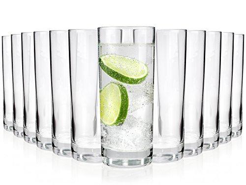 Gläser-Set Merlot 12 teilig   Füllmenge: 330 ml   Ein Glas für alle Getränke - der perfekte Allrounder   Gastronomiegeeignet