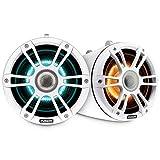 Fusion 010-02437-01 Wake Tower Speakers, 8.8', White, Illuminated