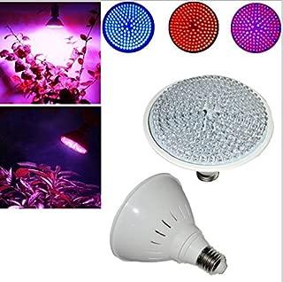 Best to Buy Full Spectrum 9W=65W LED Grow Light Bulb for Veg and Flower, PAR38 E26 Base (Red 610-640 nm, Blue 450-470 nm)