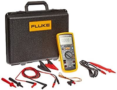 Fluke Insulation Multimeter for Telecommunications Testing, LCD Display