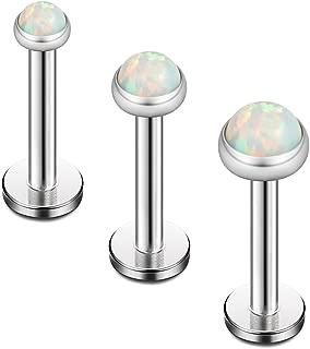 labret earrings for lobes