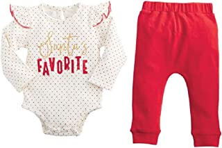 Mud Pie Santa Favorite Two Piece Set