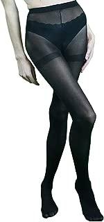 purple and black tights