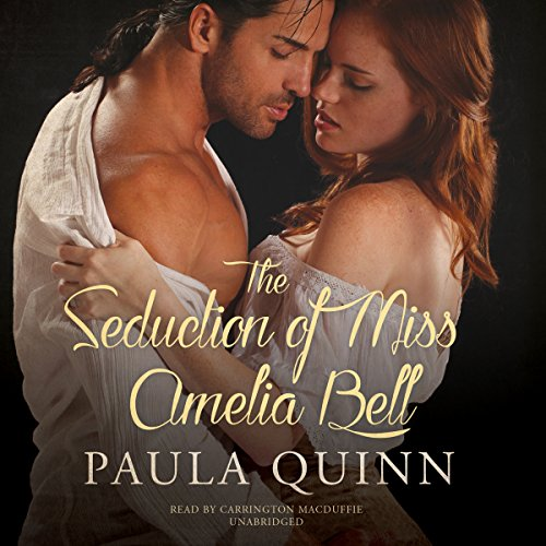The Seduction of Miss Amelia Bell audiobook cover art