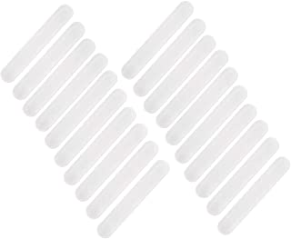 DS. DISTINCTIVE STYLE 20 Pieces Disposable Cap Liner Moisture Wicking Sweatband Visor Hat Adhesive Sweat Absorbing Strips ...