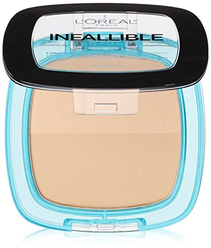 L'Oréal Paris Infallible Pro Glow Pressed Powder, Creamy Natural, 0.31 oz.