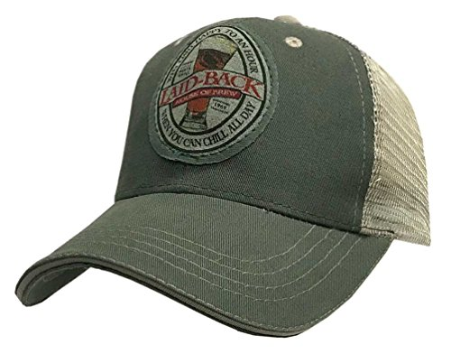 Laid-Back Men's Cornet Beer Softee Hat Baseball Cap Brewery Bar LB19027SMT