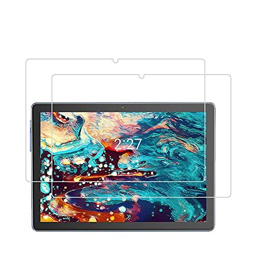 LEHEE Protector de Pantalla para ZONMAI MX2 Tablet 10.1 Pulgada, [2 Piezas] 9H Dureza Sin Burbujas Cristal Templado Film para ZONMAI MX2 Tablet 10.1 Pulgada