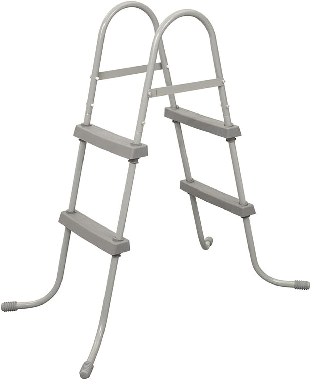 Escalera Mecánica De Doble Cara Para Piscina Al Aire Libre, Equipo De Piscina Con 2 Peldaños De Protección Antideslizante, Escalera De Piscina Desmontable Portátil, Instalaciones De Escalera De Pisc