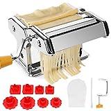 TAECOOOL Máquina para hacer pasta, máquina profesional de cocina de acero inoxidable hecha a mano para hacer fideos...