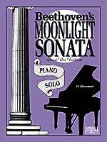 Moonlight Sonata / Piano Solo 158560044X Book Cover