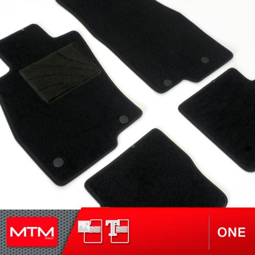 MTM Alfombrillas Civic Vi Coupè Desde 1995-2000, a Medida Forma Original en Moqueta Antideslizante, cód. One 1271