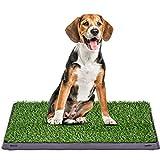 COSTWAY Inodoro para Mascotas Perro Alfombra Césped Artificial para...