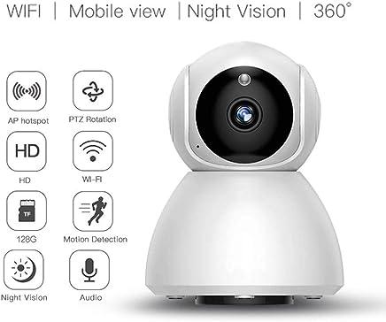 XHZNDZ Telecamera Senza Fili, Telecamera WiFi 720p con Audio, Videocamera di Sicurezza per Bebè con Visione Notturna IR, Telecamera IP di Babysitter con videocitofono bidirezionale - Trova i prezzi più bassi