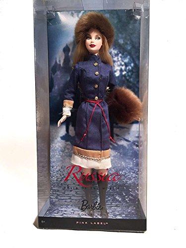Barbie R4488 - Muñeca Rusa de coleccionista
