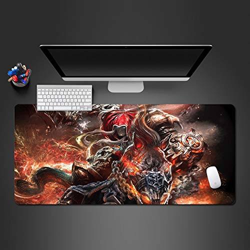 Muis Pad Knappe Action Mouse Pad Mouse Pad Explode Mouse Pad Toetsenbord Mode Computer Mouse Pad Higth Laptop Game Pad Mouse Pad Gift 900 * 300 * 400Mm