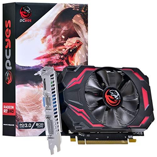 PLACA DE VIDEO AMD RADEON R7 240 2GB GDDR5 128 BITS GAMING EDITION - PJ240R712802D5, PCYES, 30156
